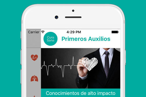 App Curasana (iPhone y Android)